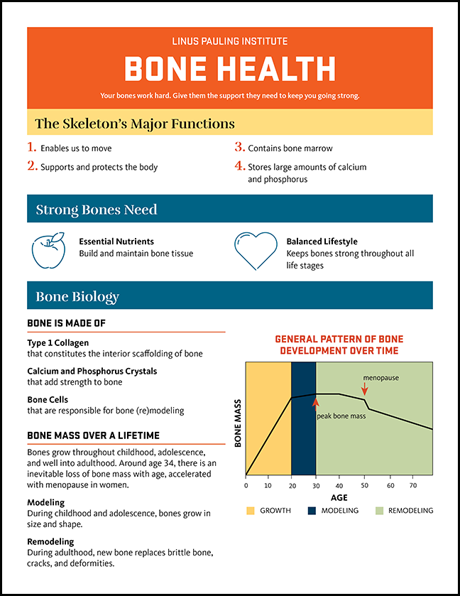 thumbnail of infographic on bone health