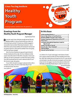HYP Fall 2015 Newsletter