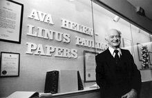 With the Ava Helen-Linus Pauling Papers collection at OSU