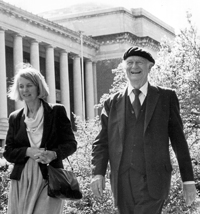 Linus pauling and daughter linda