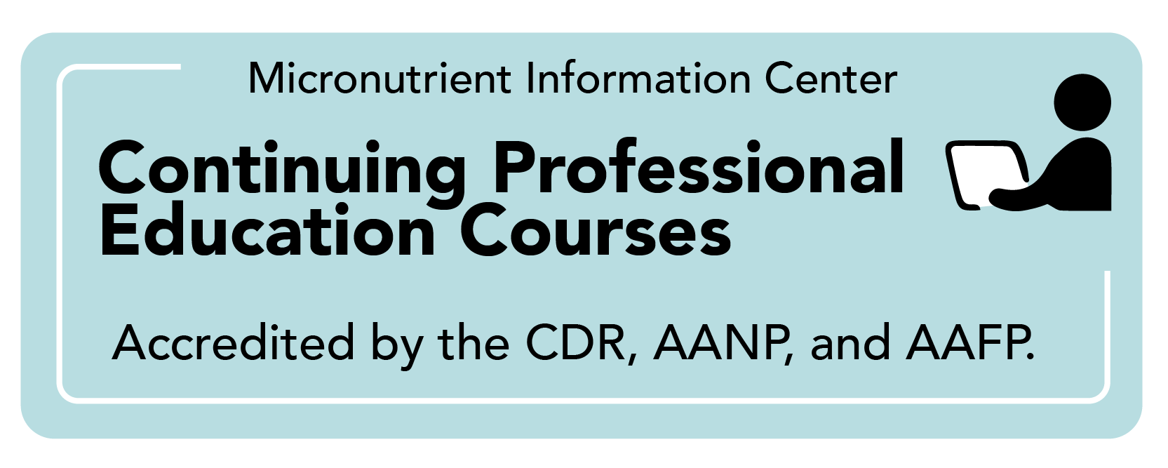 """button that links to """"Meeting Micronutrient Needs"""" continuing education course page"""