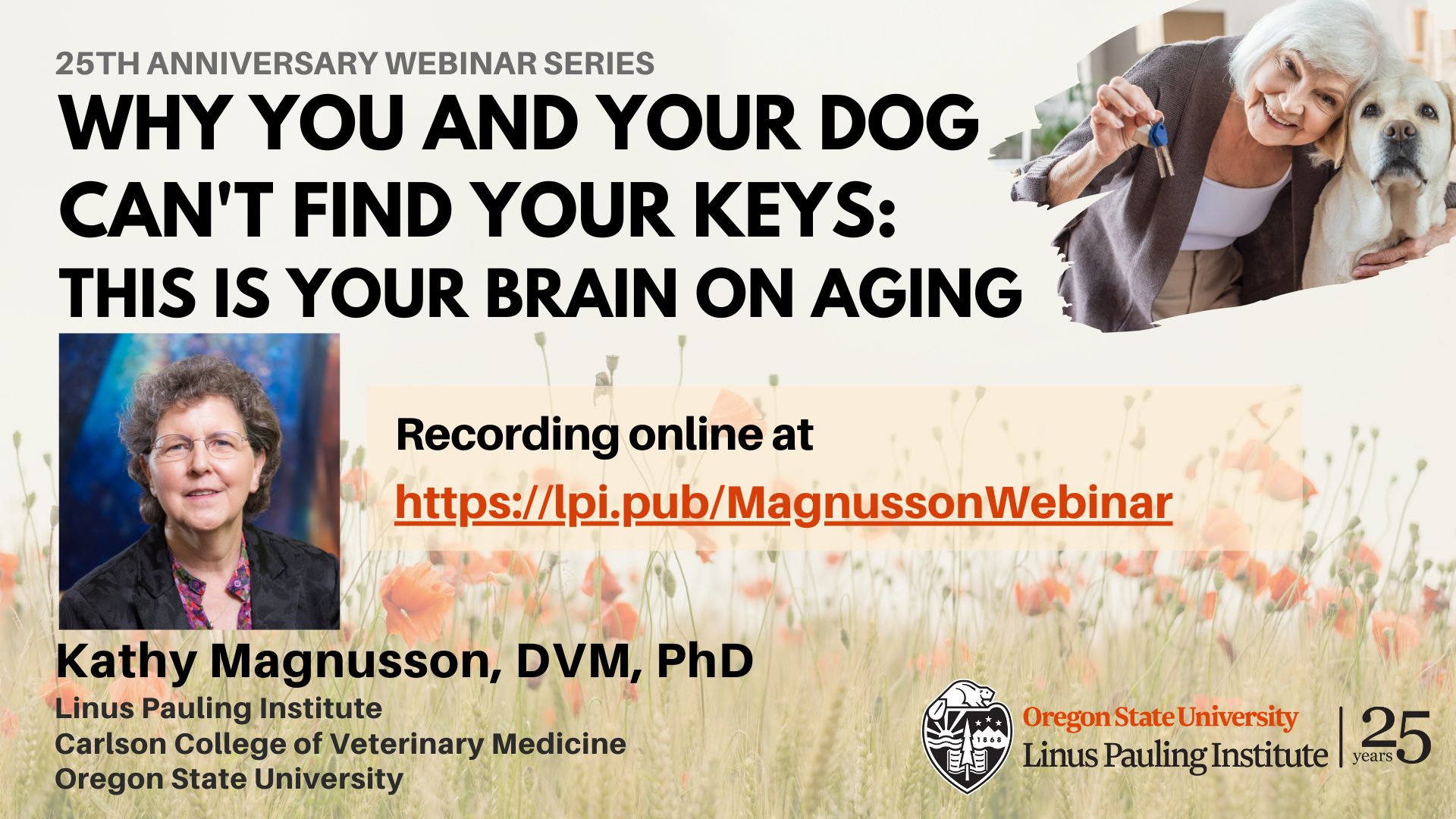 Magnusson Webinar - Now On YouTube
