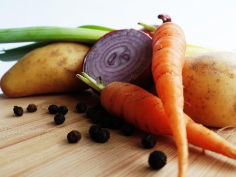 Vegetables as a source of good nutrition