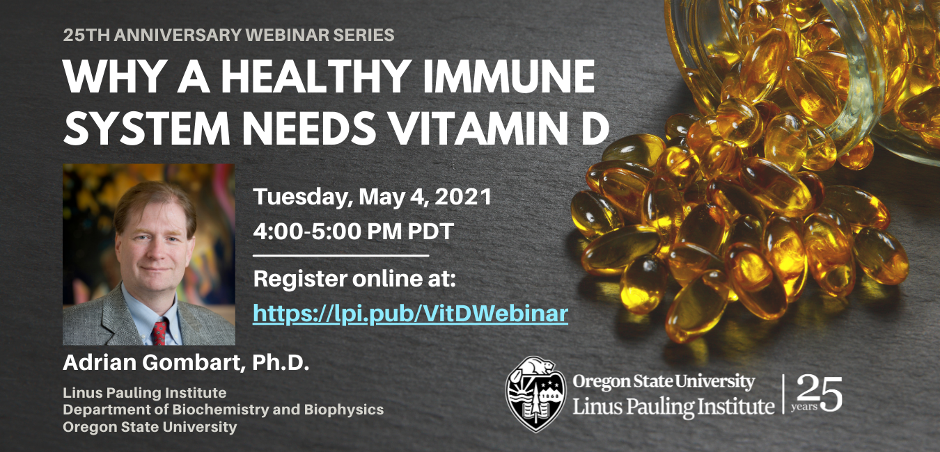 Vitamin D Webinar - May 4 2021