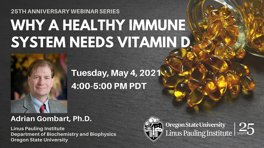 Vitamin D Webinar by Dr. Adrian Gombart